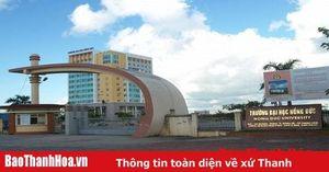 Năm 2020, Trường ĐH Hồng Đức tuyển 1.360 chỉ tiêu