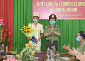 Hiệu phó trường an ninh làm phó giám đốc Công an Bình Thuận
