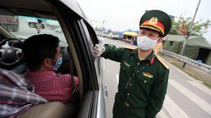 Nam Định, Ninh Bình đồng loạt lập chốt kiểm soát dịch bệnh tại các cửa ngõ