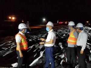 Dự án cao tốc Trung Lương – Mỹ Thuận thi công xuyên đêm