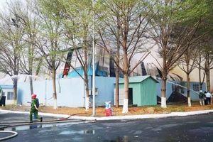 Cháy nhà xưởng rộng 10.000 m2 ở Bà Rịa - Vũng Tàu