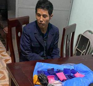 Bắt đối tượng vận chuyển gần 4.000 viên ma túy từ Lào về Việt Nam