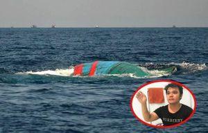 Chuyến biển kinh hoàng của vị thuyền trưởng tàu cá bị Trung Quốc đâm chìm