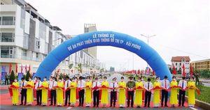 Thông xe Dự án phát triển giao thông đô thị TP Hải Phòng