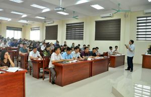 Xây dựng Trường Đào tạo cán bộ Nguyễn Văn Cừ thành trường chuẩn