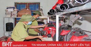 Phòng 'bà hỏa' đe dọa rừng Vũ Quang