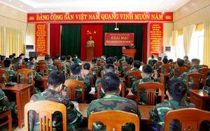 Ban CHQS TP Hạ Long: Huấn luyện cán bộ dự bị động viên