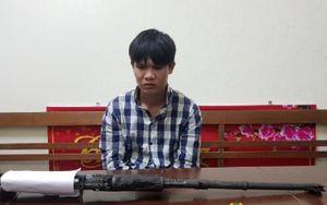 Lạng Sơn: Thanh niên mang súng quân dụng đi bán để mua ma túy