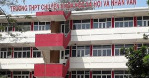 Trường chuyên Khoa học xã hội và Nhân văn tuyển 100 học sinh vào lớp 10