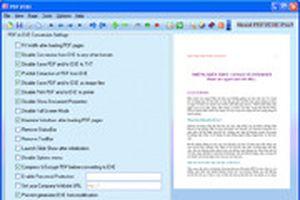 Đóng gói các tập tin PDF thành file tự chạy với Pdf2exe