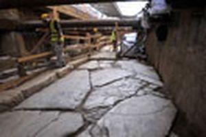 Tìm thấy đường cổ 2.000 năm tuổi ở Hy Lạp