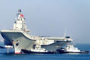 Hàng không mẫu hạm Trung Quốc khi nào vận hành?
