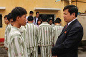 Kiểm tra người chưa thành niên chấp hành án phạt tù