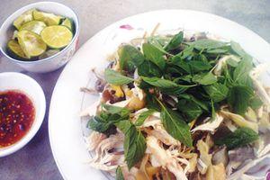 Gỏi bắp chuối thịt gà