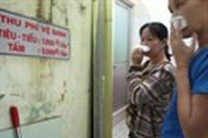 'Bịt mũi' ở nhà vệ sinh bệnh viện