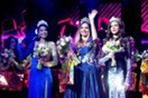 Phạm Hương đoạt Á hậu 1 cuộc thi Miss World Sport 2014