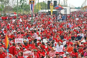 Phe 'áo đỏ' ở Thái dự kiến xuống đường tổ chức đại tang