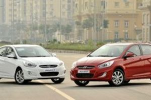 Hyundai Accent Blue 2015 giá từ 550 triệu đồng