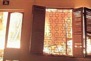 Cận cảnh căn nhà sau vụ cháy khiến 6 người thiệt mạng