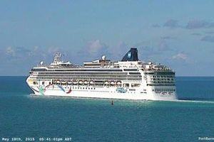 Du thuyền khổng lồ Na Uy chết máy gần Bermuda