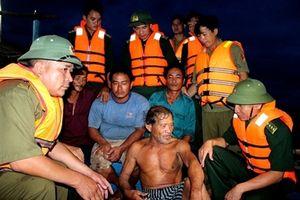 BĐBP Hà Tĩnh cứu nạn thành công 4 ngư dân bị nạn trên biển