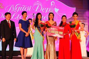 Nữ sinh báo chí đăng quang Người đẹp du lịch Huế