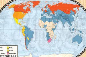 Những bản đồ thay đổi cách nhìn con người về thế giới