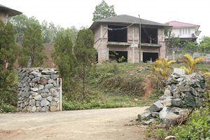 Phát hiện thêm 52 biệt thự trái phép trên đất rừng Ba Vì
