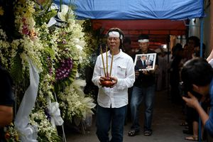 Đau thương bao trùm tang lễ nhạc sỹ Nguyễn Ánh 9