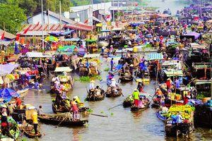 Chợ nổi Cái Răng được công nhận di sản văn hóa phi vật thể quốc gia