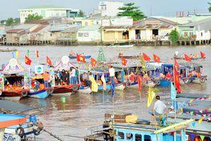 Cần Thơ: Tưng bừng Ngày hội chợ nổi Cái Răng
