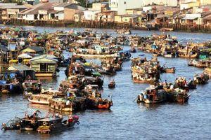 Chợ nổi Cái Răng là di sản văn hóa cấp quốc gia