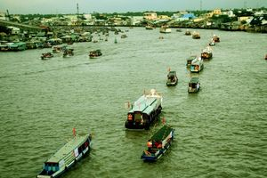 Chợ nổi Cái Răng: Điểm nhấn thu hút khách du lịch