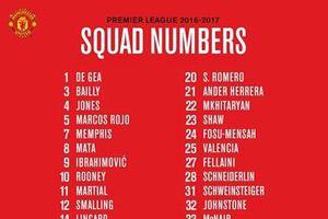 Ibrahimovic khoác áo số 9, MU để số 6 đợi Paul Pogba