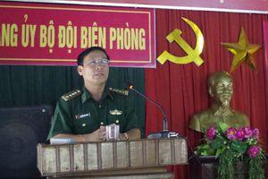 BĐBP Quảng Trị bồi dưỡng lý luận chính trị cho đảng viên mới