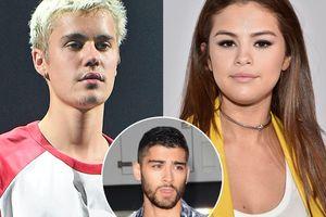 Justin Bieber tố Selena Gomez lăng nhăng với Zayn Malik