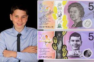 Australia thay đổi mẫu tiền giấy vì kiến nghị của thiếu niên mù