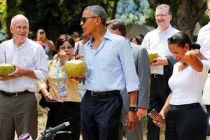 Nhìn lại chuyến công du sang Lào của Tổng thống Obama
