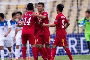 Hạ U16 Kyrgyzstan, Việt Nam thẳng tiến tứ kết U16 châu Á