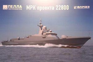 Khiếp đảm sức mạnh tàu chiến cỡ 800 tấn của Nga