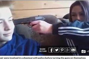 Bị cấm yêu, cặp đôi 15 tuổi bắn cảnh sát rồi tự tử