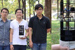 Sinh viên chế tạo máy lọc không khí, diệt vi khuẩn