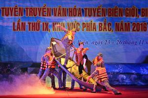 Liên hoan Đội TTVH lần thứ IX năm 2016: Hội tụ hương sắc Biên phòng
