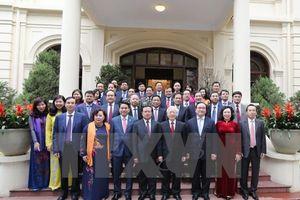 Tổng Bí thư Nguyễn Phú Trọng thăm, chúc Tết thành phố Hà Nội