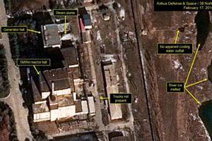 CNN: Một lò phản ứng hạt nhân của Triều Tiên có dấu hiệu hoạt động