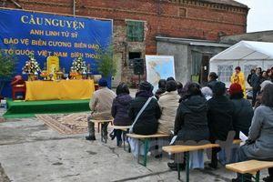 Cộng đồng người Việt tại Berlin cầu siêu tri ân các anh hùng liệt sĩ