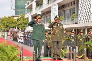 Tăng cường hợp tác quốc phòng hai nước Việt Nam - Campuchia