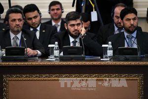Phe đối lập Syria ngừng tham gia hòa đàm ở Astana