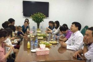 Kỷ niệm cháu bé thứ 200 được sinh ra thành công nhờ IVF tại Bệnh viện Bạch Mai