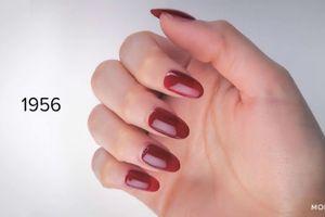 100 năm phong cách làm đẹp móng tay của phụ nữ
